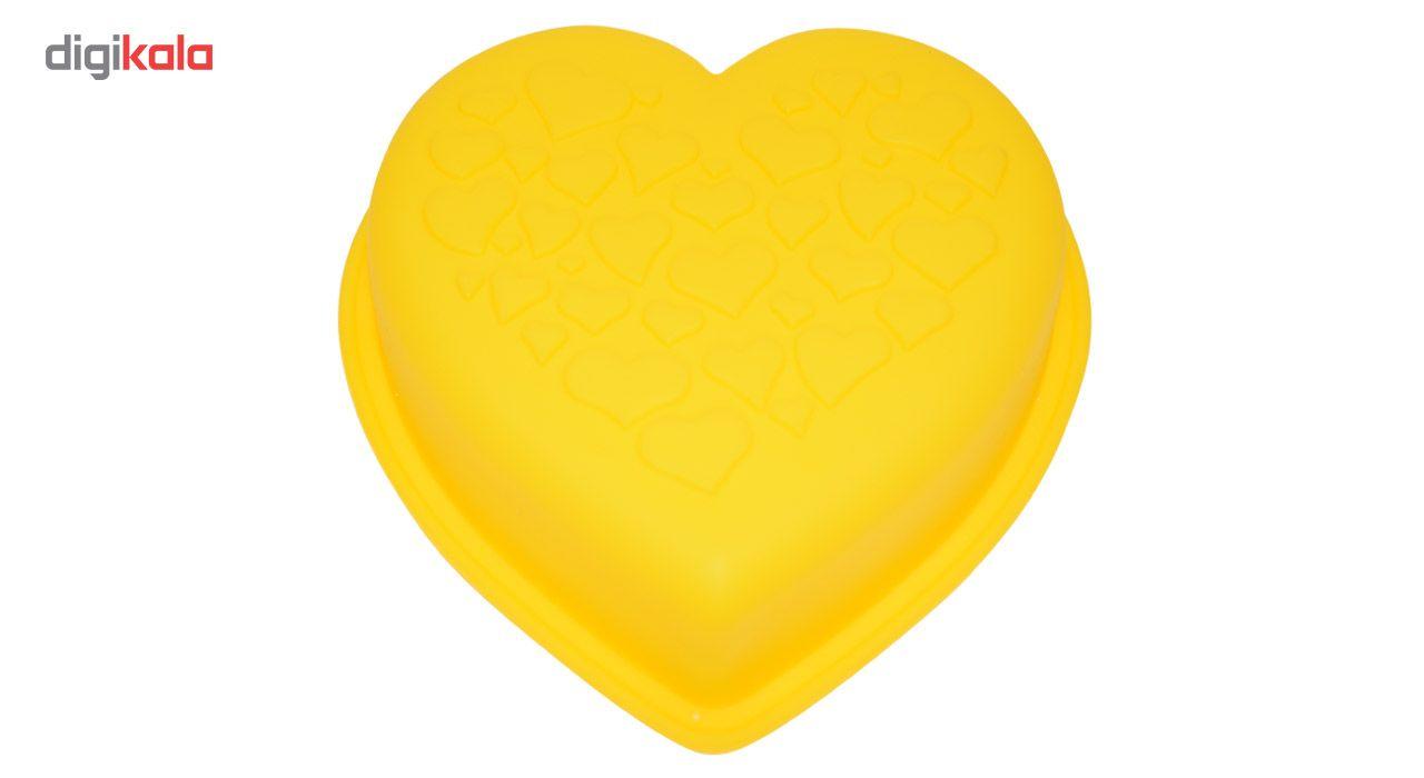 قالب ژله و کیک سیلیکونی طرح قلب main 1 3