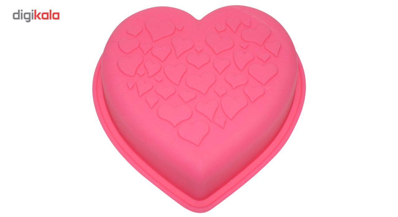 قالب ژله و کیک سیلیکونی طرح قلب main 1 4
