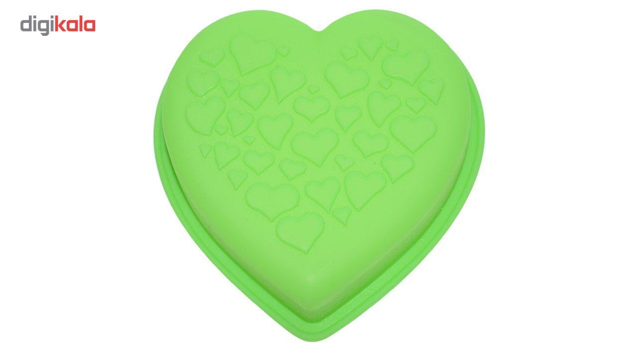 قالب ژله و کیک سیلیکونی طرح قلب main 1 5