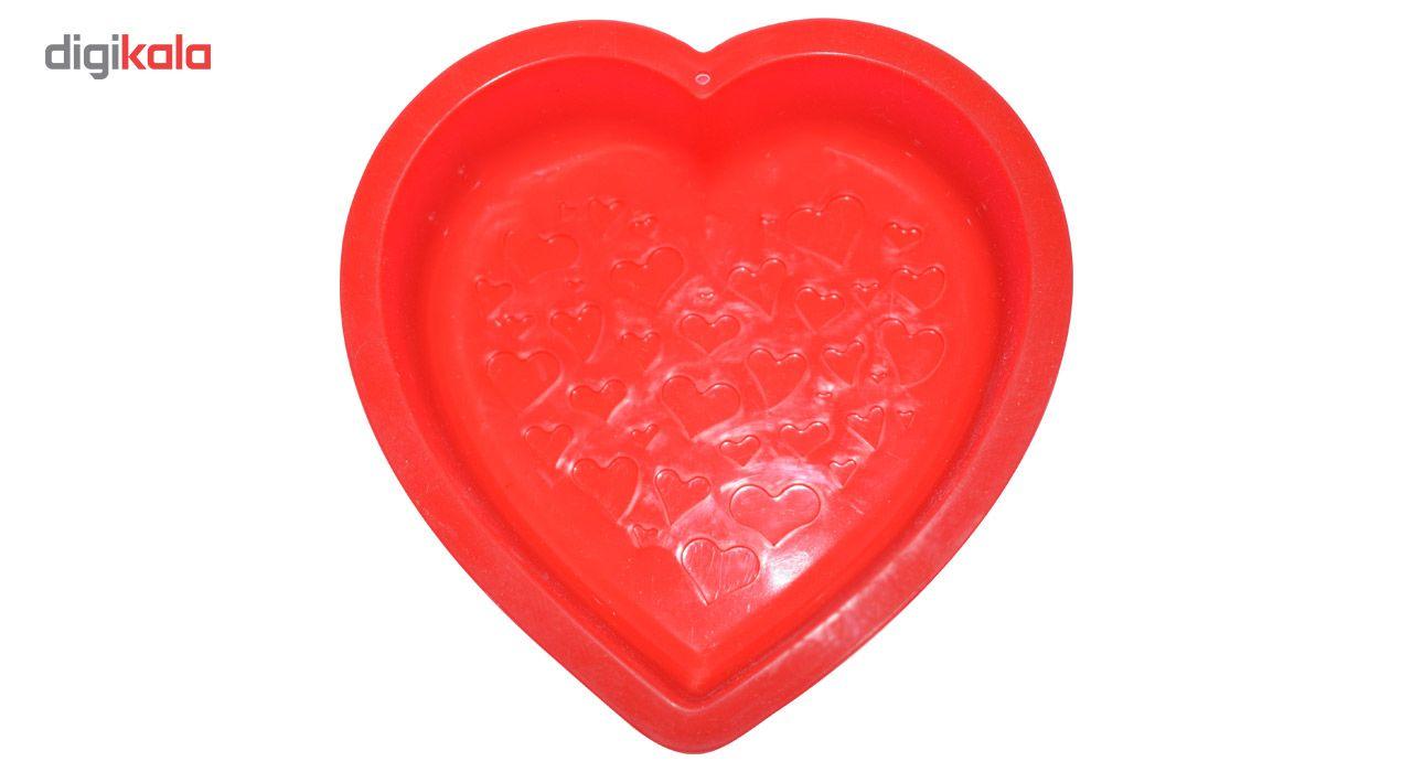 قالب ژله و کیک سیلیکونی طرح قلب main 1 6