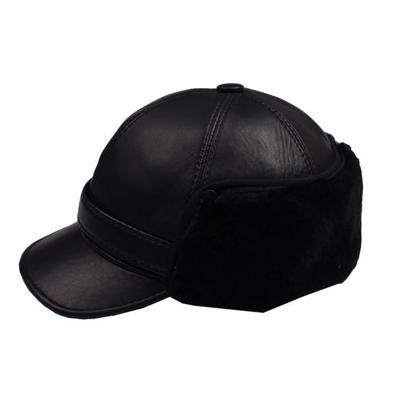 کلاه کپ چرم کن ا مدل D-469