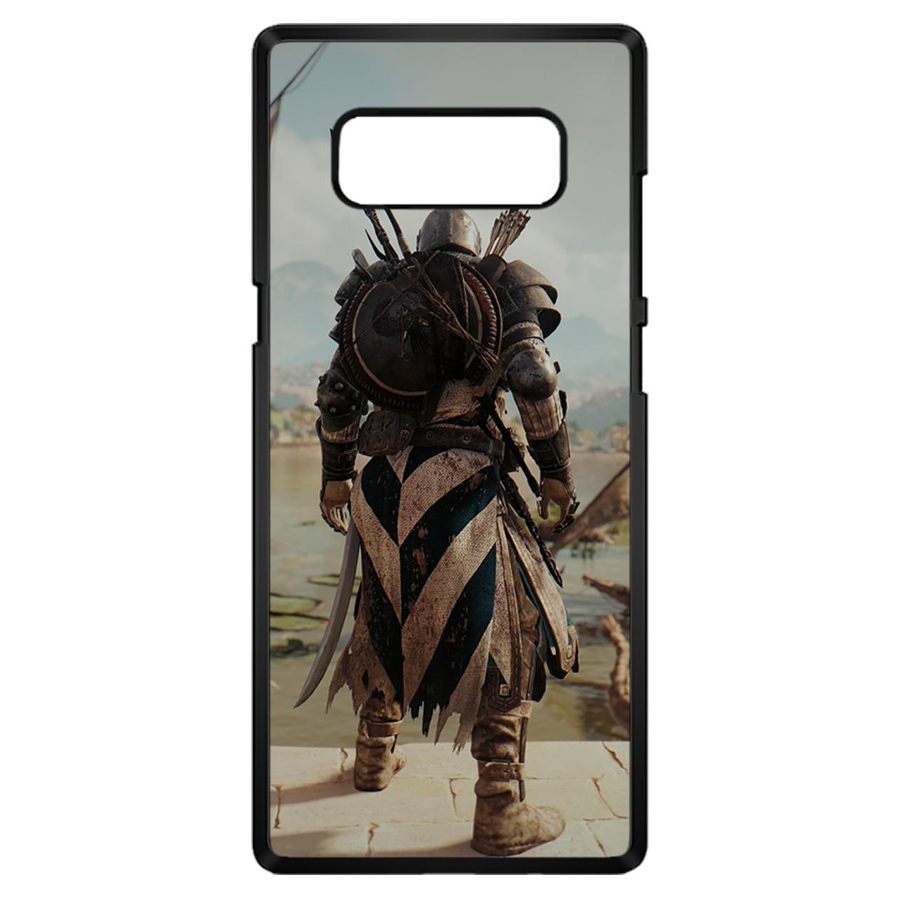 کاور چاپ لین مدل Assassins Creed مناسب برای گوشی موبایل سامسونگ Note 8