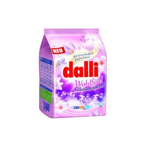 پودر ماشین لباسشویی دالی dalli مدل ارکیده مخصوص لباس های رنگی وزن 1040 گرم