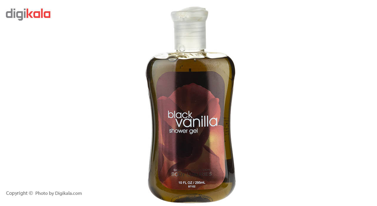 شامپو بدن بادی لاکچری مدل Black Vanilla حجم 295 میلی لیتر main 1 1
