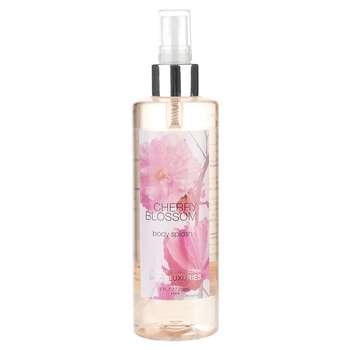 اسپری خوشبو کننده بدن زنانه بادی لاکچری مدل Cherry Blossom حجم 236 میلی لیتر