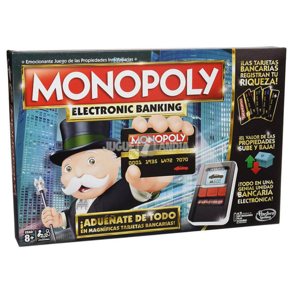 بازی رومیزی هاسبرو مدل Monopoly Ultimate Banking