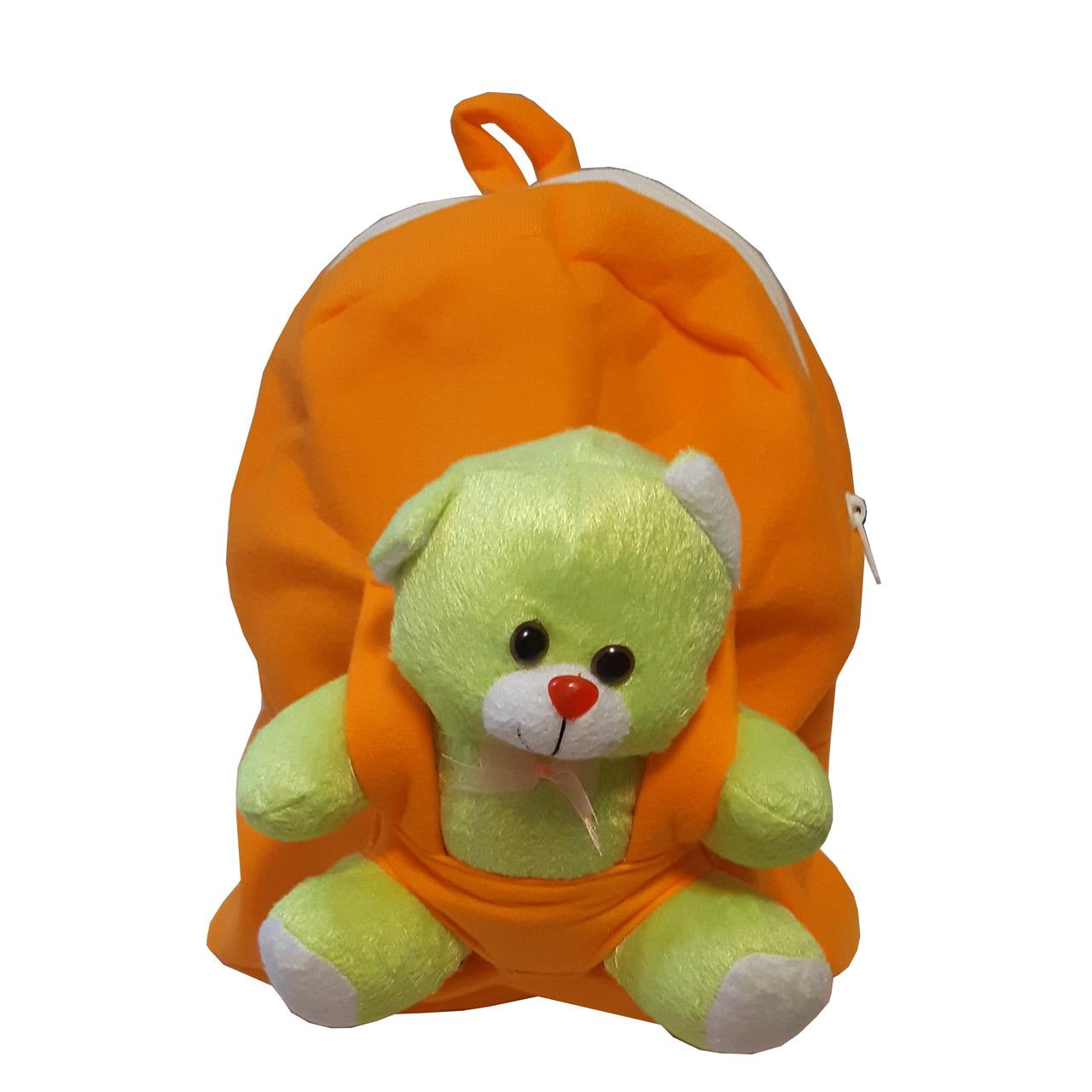 کوله پشتی کودک مدل خرس دار کد 74