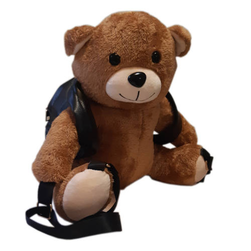 کوله پشتی کودک مدل خرس قهوه ای کد 304