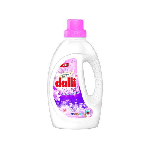 مایع لباسشویی دالی dalli مدل ارکیده وحشی مخصوص لباس های رنگی حجم 1.35 لیتر