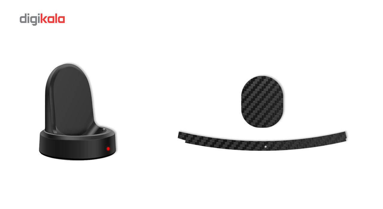 بسته 2 عددی برچسب ماهوت مدل Carbon-fiber مناسب برای ساعت هوشمند Samsung Gear S3 Frontier main 1 10