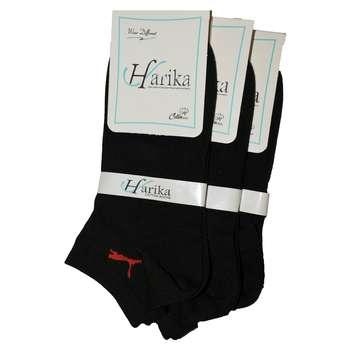 جوراب مردانه هاریکا مدل پوما بسته سه جفتی