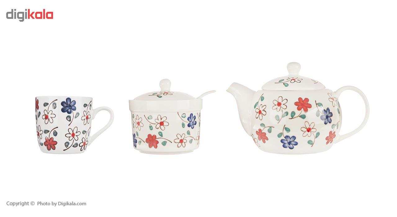 سرویس چای خوری 12 پارچه سان مدل E