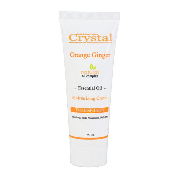 کرم مرطوب کننده کریستال مدل Orange Ginger حجم 75 میلی لیتر