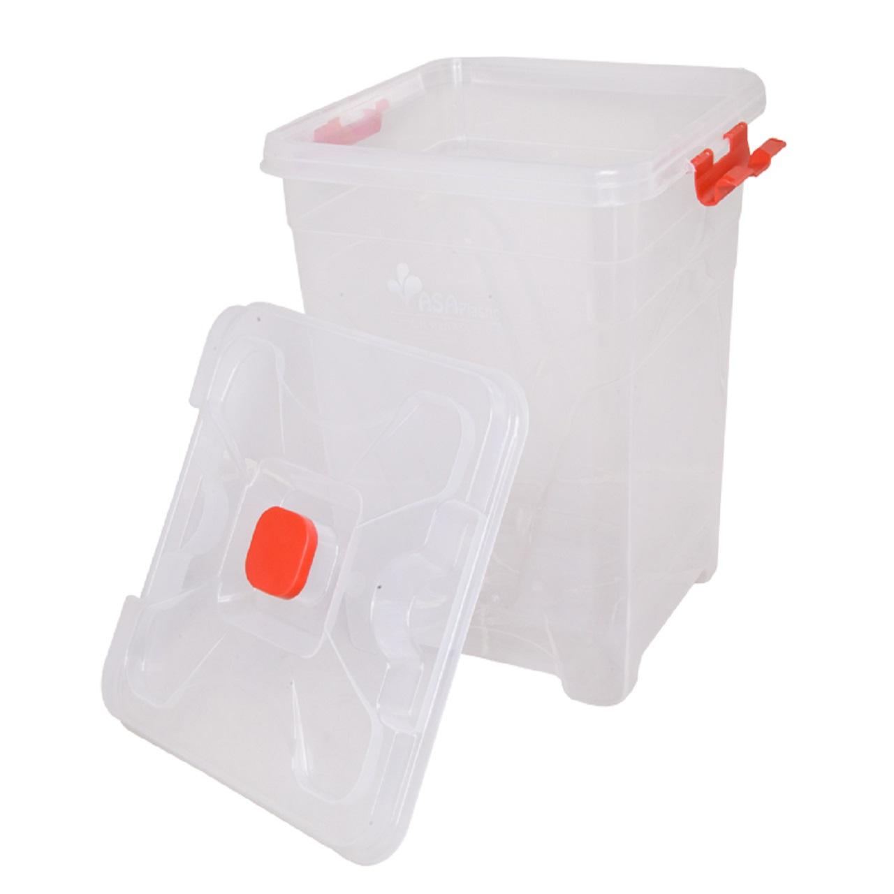 ظرف نگهدارنده آسا پلاستیک مدل 510 ظرفیت 20 لیتر