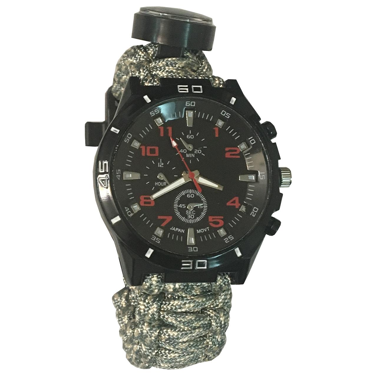 ساعت مچی عقربه ای پاراکورد مدل survival watch