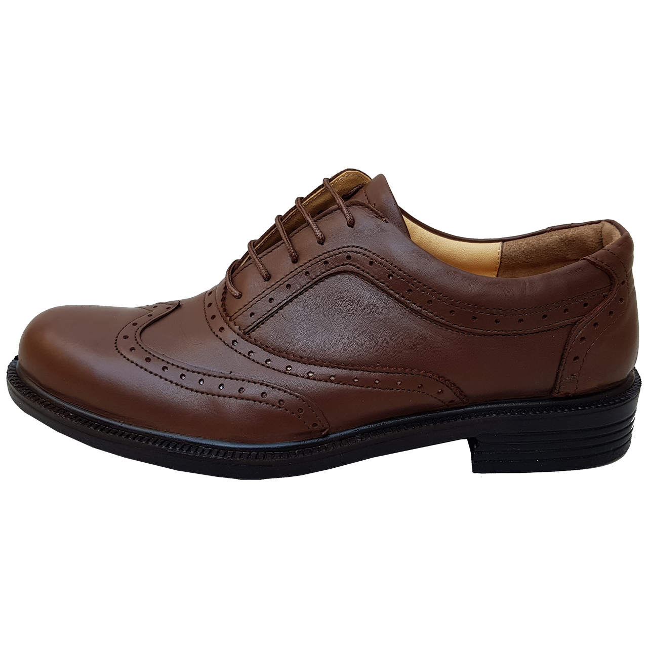 کفش مردانه چرم دیاکو مدل hashtark-bandi-ghah