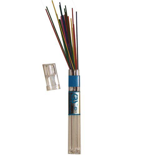 نوک مداد نوکی 0.7 میلی متری سی بی اس مدل رنگی 24 عددی