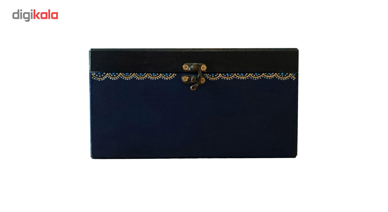 جعبه جواهرات چوبی یک هدیه خوب کد1347020 سایز 5 × 12 × 12