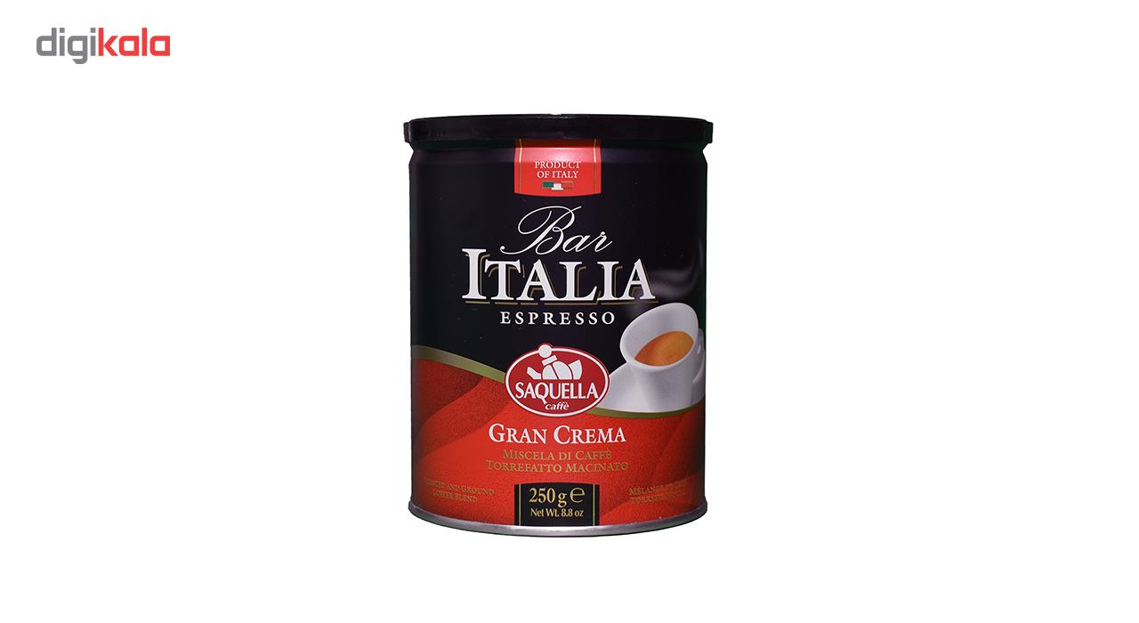 قوطی قهوه ساکوئلا مدل Gran Crema