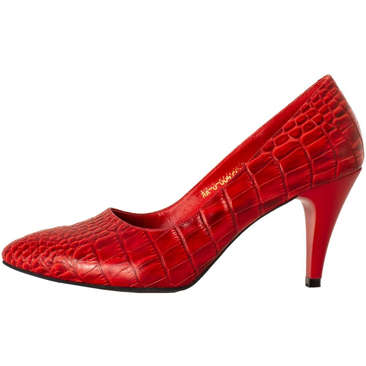 کفش زنانه پارینه چرم مدل SHOW43-2