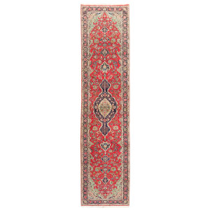 فرش دستبافت قدیمی کناره طول پنج متری سی پرشیا کد 102306