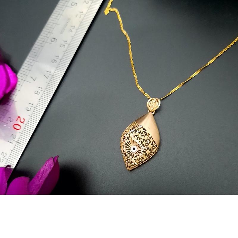 گردنبند طلا 18 عیار زنانه گالری یار طلا کد PL35B-Z