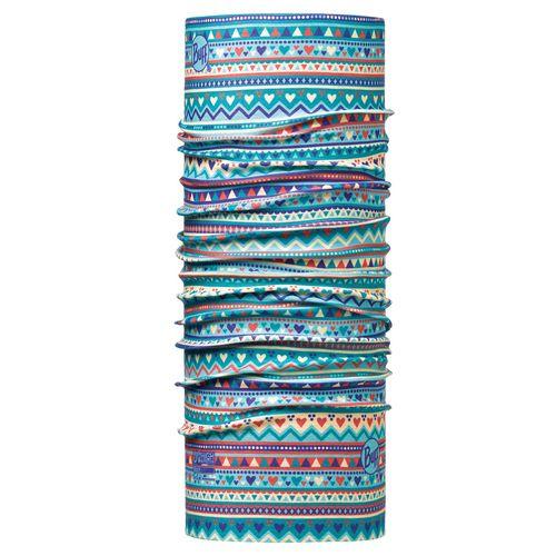 دستمال سر و گردن باف مدل Handicraft Turquoise