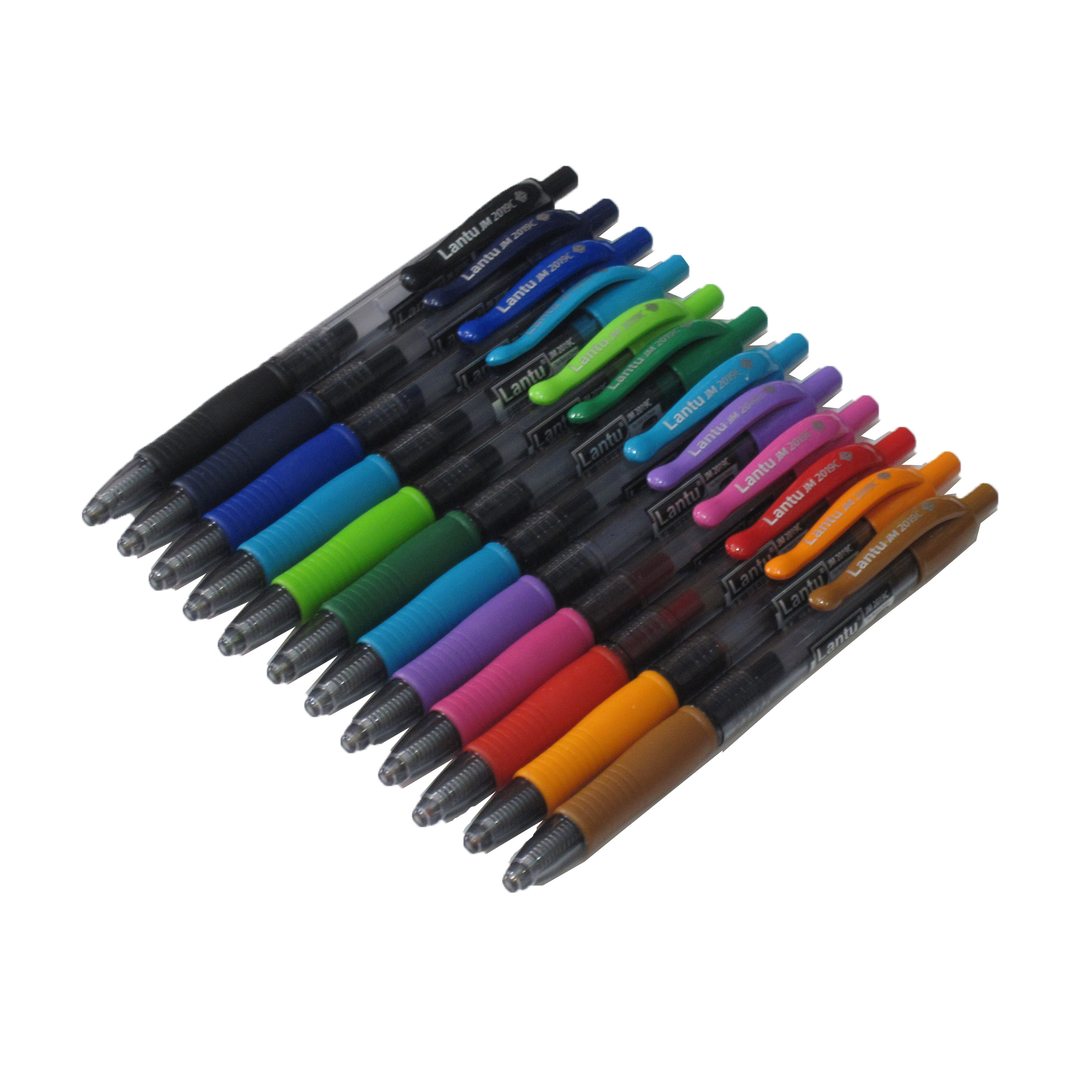 خودکار رنگی لانتو بسته 12 عددی سایز 0.7