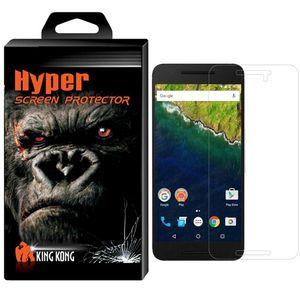 محافظ صفحه نمایش شیشه ای کینگ کونگ مدل Hyper Protector مناسب برای گوشی هواوی Nexus 6P