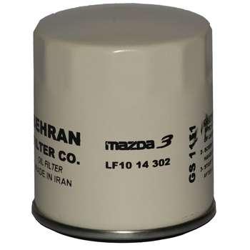 فیلتر روغن خودرو بهران فیلتر مدل GS1151 مناسب برای مزدا 3