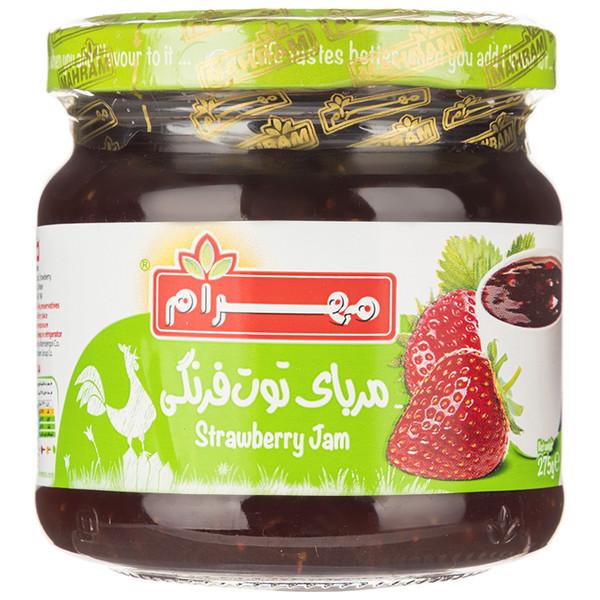 مربا توت فرنگی مهرام - 275 گرم