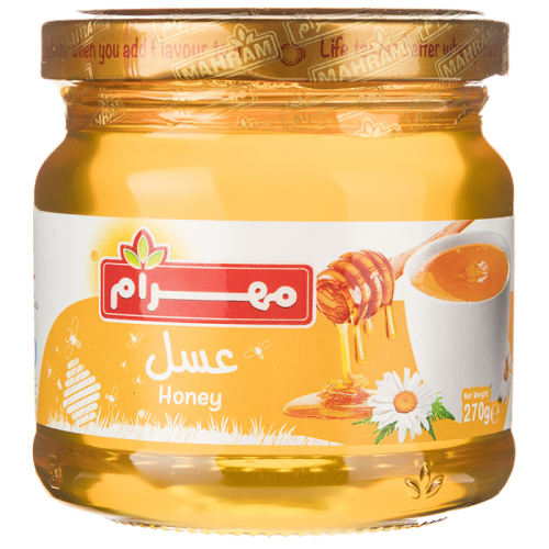 عسل مهرام مقدار 270 گرم
