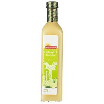 آب لیمو ترش مهرام مقدار 0.5 لیتر