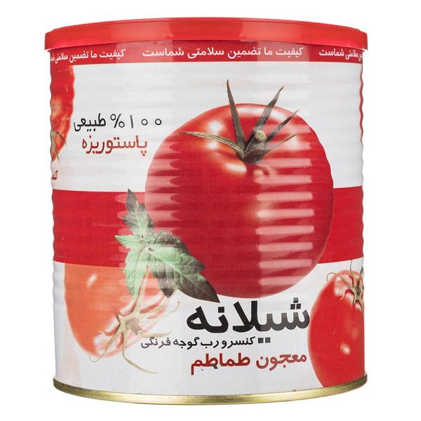 کنسرو رب گوجه فرنگی شیلانه مقدار 800 گرم