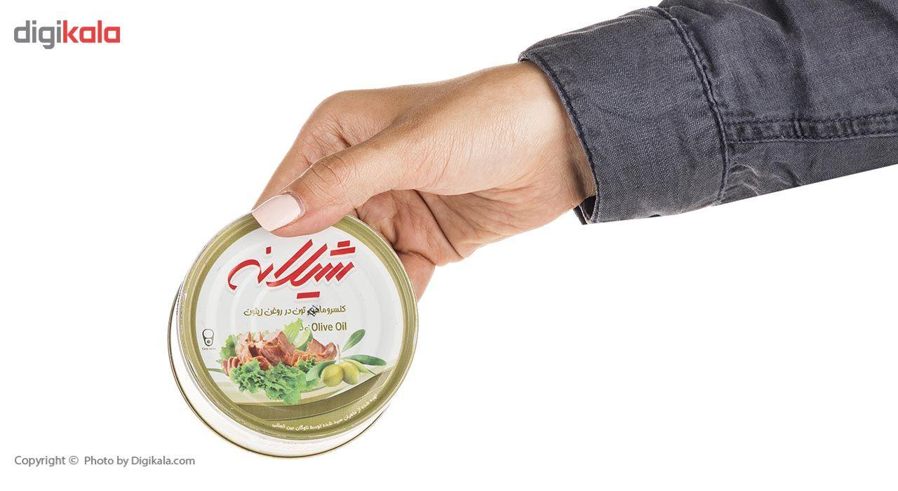 کنسرو ماهی تون در روغن زیتون شیلانه -180 گرم main 1 3
