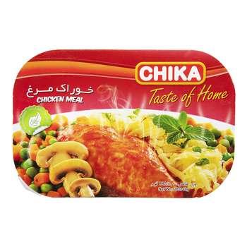 خوراک مرغ چیکا مقدار 285 گرم