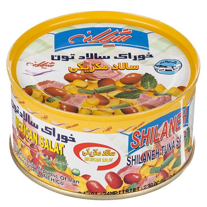 خوراک سالاد تون شیلانه مقدار 170 گرم