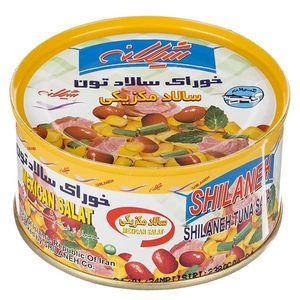 خوراک سالاد تون شیلانه مقدار 190 گرم