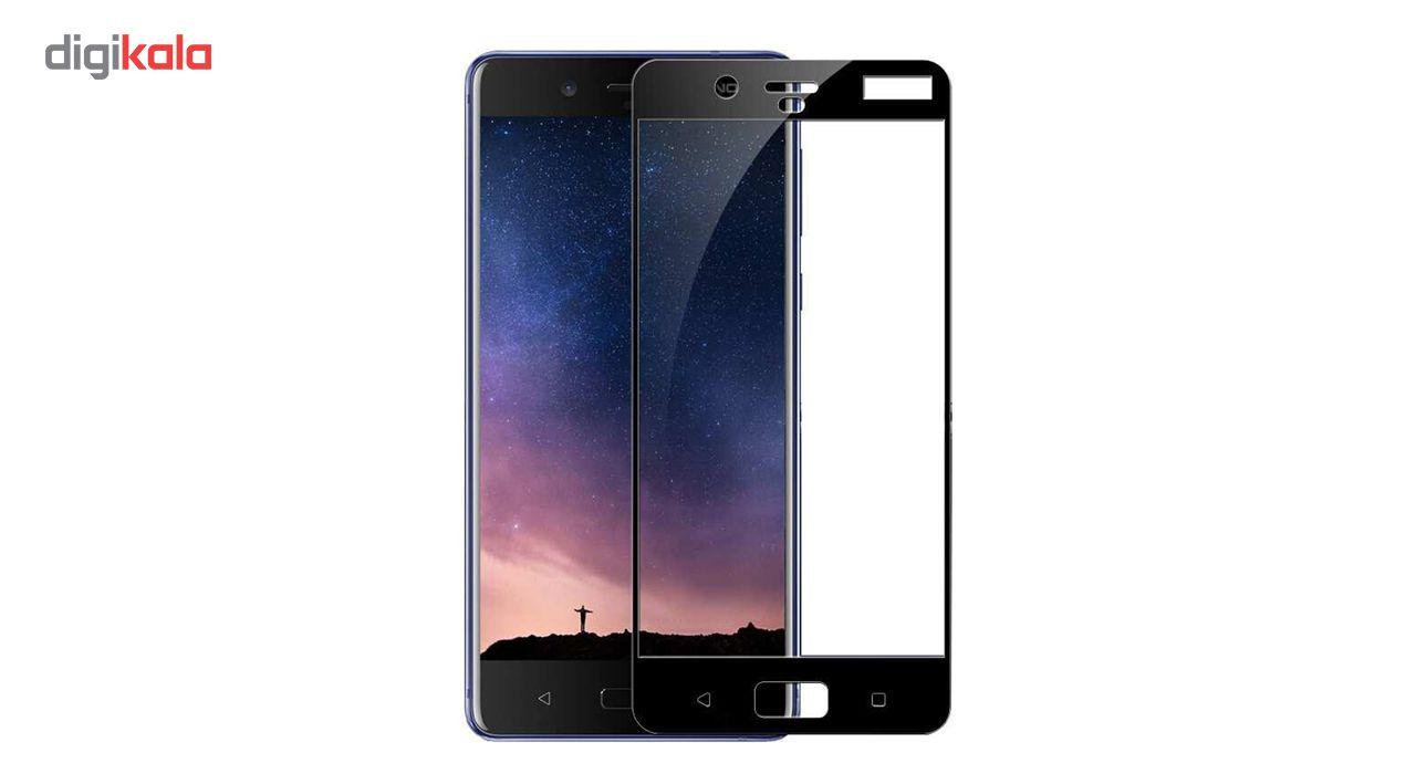 محافظ صفحه نمایش ریمو مدل Full Cover مناسب برای گوشی موبایل Nokia 5 main 1 1