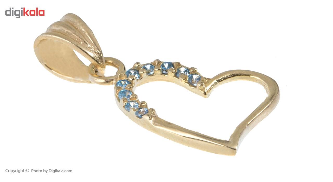 آویز گردنبند طلا 18 عیار ماهک مدل MM0616 - مایا ماهک