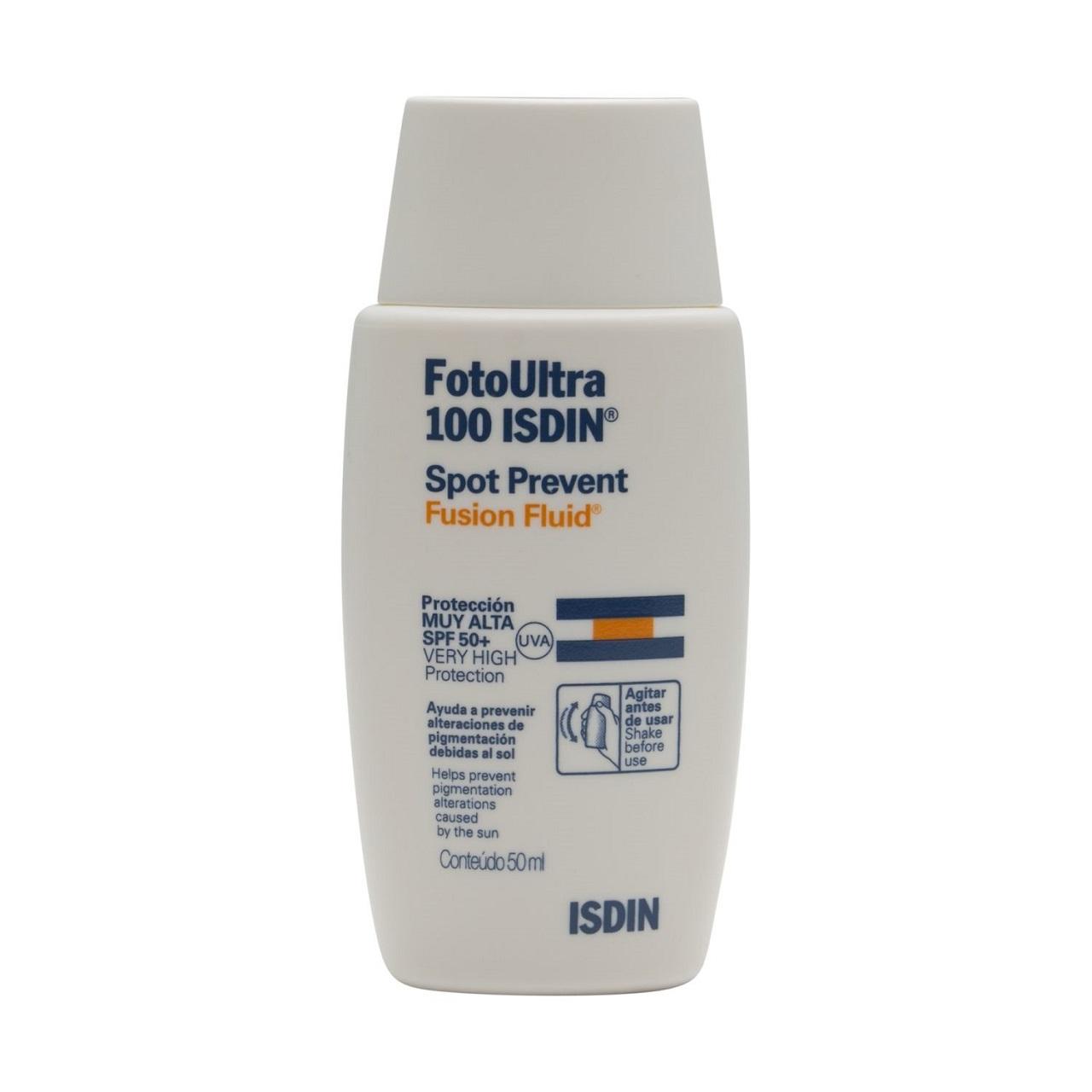قیمت فلویید ضد آفتاب ایزدین مدل Spot prevent fusion fluid spf 50 حجم 50 میلی لیتر