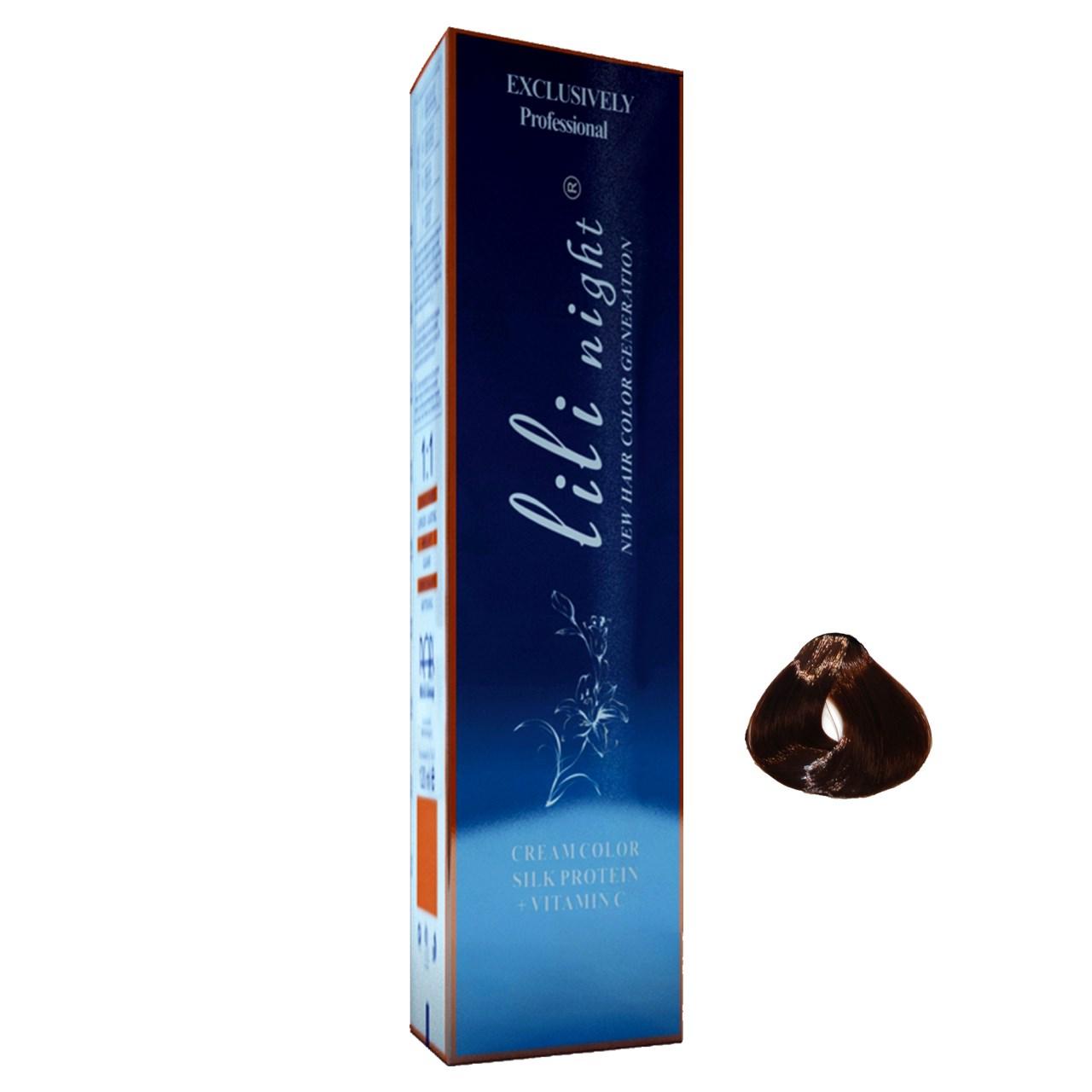 رنگ موی لی لی نایت مدل R10100027 شماره 7.45