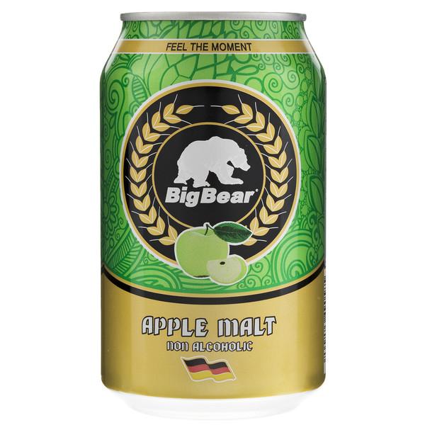 نوشیدنی مالت با طعم سیب بیگ بیر مقدار 0.33 لیتر