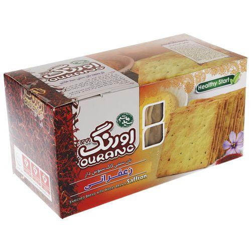 نان سنتی کاک سبوس دار زعفرانی اورنگ مقدار 450 گرم