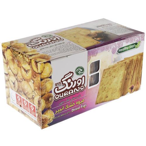 نان سنتی کاک حاوی میوه خشک انجیر اورنگ مقدار 450 گرم