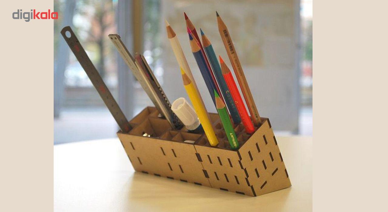 نظم دهنده چوبی لوکس طلائی مدل چندکاره main 1 2