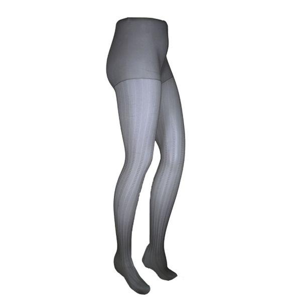 جوراب شلواری زنانه نوردای مدل 715090 مشکی بسته 2 عددی