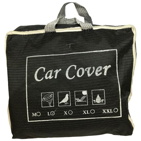 روکش خودرو کار کاور کد 02L مناسب برای خودروهای تیبا، سمند و پژو 405