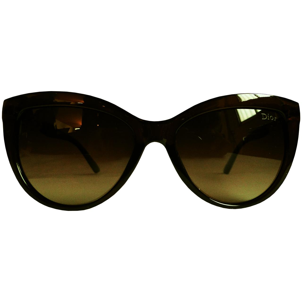 قیمت عینک آفتابی زنانه دیور مدل Dior-Brown-P013