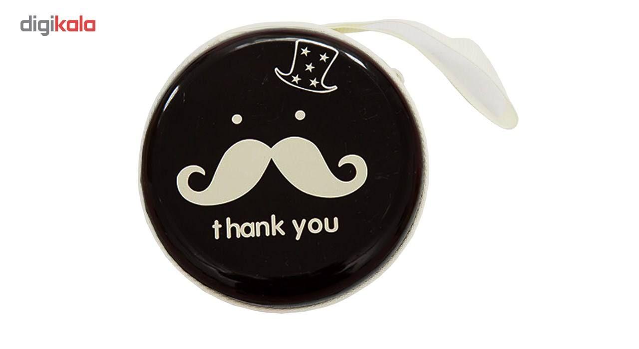 کیف هندزفری گالری نایس مدل Moustache main 1 3
